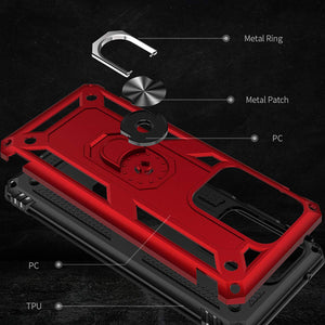 Luxury Armor Ring Bracket Phone Case For Samsung S20 Ultra-Fast Delivery