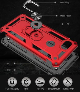 2020 New Luxury Armor Ring Bracket Phone case For Google Pixel 3A XL-Fast Delivery