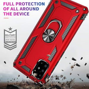 Luxury Armor Ring Bracket Phone Case For Samsung A51-Fast Delivery