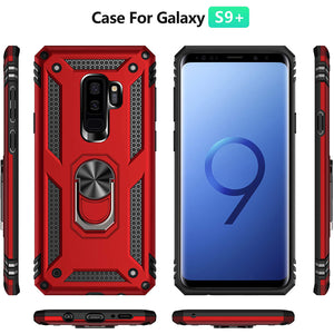 Luxury Armor Ring Bracket Phone Case For Samsung S9 Plus-Fast Delivery