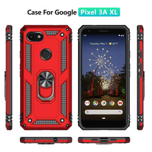 Load image into Gallery viewer, 2020 New Luxury Armor Ring Bracket Phone case For Google Pixel 3A XL-Fast Delivery