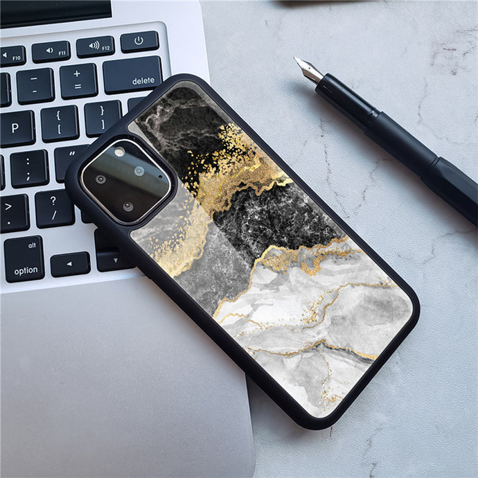 Creative Marble Pattern iPhone Case