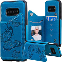 Load image into Gallery viewer, New Luxury Embossing Wallet Cover For SAMSUNG S10 Plus-Fast Delivery