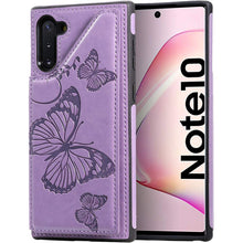 Load image into Gallery viewer, New Luxury Embossing Wallet Cover For SAMSUNG Note 10-Fast Delivery