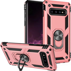 Luxury Armor Ring Bracket Phone Case For Samsung S10 Plus-Fast Delivery