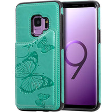 Load image into Gallery viewer, New Luxury Embossing Wallet Cover For SAMSUNG S9-Fast Delivery