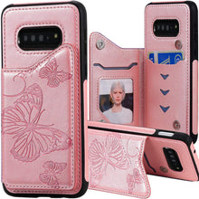 Load image into Gallery viewer, New Luxury Embossing Wallet Cover For SAMSUNG S10-Fast Delivery