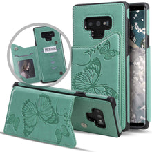 Load image into Gallery viewer, New Luxury Embossing Wallet Cover For SAMSUNG Note 9-Fast Delivery
