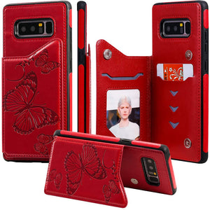 New Luxury Embossing Wallet Cover For SAMSUNG Note 8-Fast Delivery