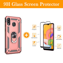 Load image into Gallery viewer, Luxury Armor Ring Bracket Phone Case For Samsung A20&A30-Fast Delivery