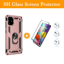 Load image into Gallery viewer, Luxury Armor Ring Bracket Phone Case For Samsung A51-Fast Delivery