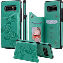 Load image into Gallery viewer, New Luxury Embossing Wallet Cover For SAMSUNG Note 8-Fast Delivery