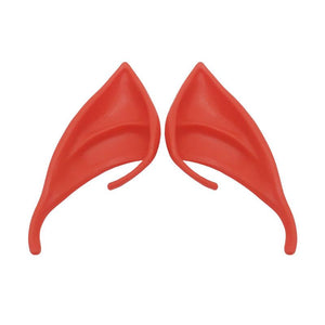 Halloween Festive Party Latex Soft Harmless False Ears Props