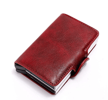 Load image into Gallery viewer, RFID Blocking Vintage Safe Wallet