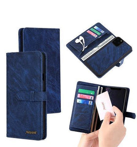 Luxury Leather Multifunctional Wallet For iPhone