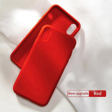 Load image into Gallery viewer, Luxury Liquid Silicone Case For iPhone