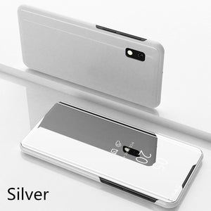 【Christmas Gift】Luxury Mirror Flip Smart Case For Samsung