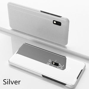 Luxury Mirror Flip Smart Case For Samsung A70