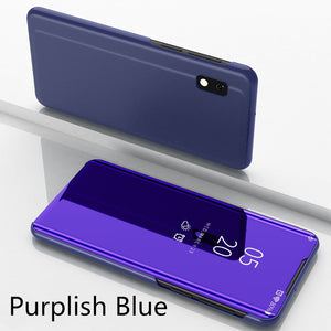 【Christmas Gift】Luxury Mirror Flip Smart Case For Samsung Series