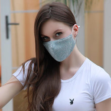 Load image into Gallery viewer, Fashion shiny Facewashable And Reusable Outdoor Sequined Cover Face-Mask