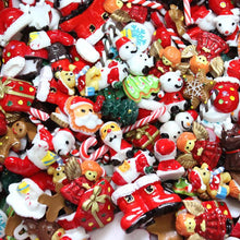 Load image into Gallery viewer, DIY Christmas Lucky Resin Accessories Craft Sets