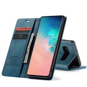 2020 New Card Flip Wallet Case For Samsung