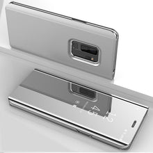Load image into Gallery viewer, Luxury Mirror Flip Case Slim Clear View Smart Case For Samsung Galaxy Series