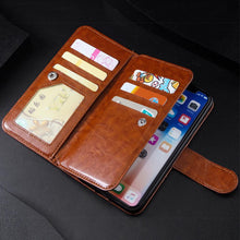 Load image into Gallery viewer, Luxury Wallet Leather Card Slots Cases For Samsung S Series