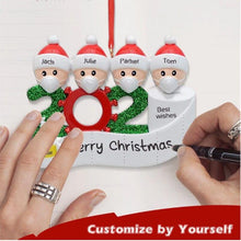 Load image into Gallery viewer, 2020 Quarantine Christmas Personalized Decoration Gift