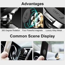 Load image into Gallery viewer, Universal Vent Mount Magnetic Car Phone Holder Stand GPS Bracket Phone *25% OFF* - ColaPa - Discover Hot Mobile Accessories Online