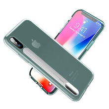 Load image into Gallery viewer, For iPhone X Case,LED Flash Light Calling Notice for Alert Phone Cases Crystal Clear Shell Cover For iPhoneX