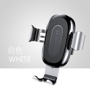 Car Mount Qi Wireless Charger For iPhone X 8 Plus Quick Charge Fast Wireless Charging Car Holder Stand For Samsung S9 S8