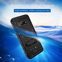 Load image into Gallery viewer, Waterproof Case with kickstand funtion for SamSung