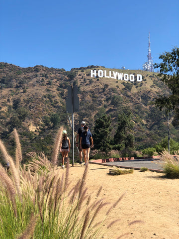 shorter hike to Hollywood sign