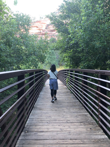 hike the West Fork Trail in Sedona