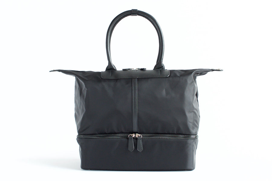 Julia Everywhere Tote - Black - Petit Blue Handbags