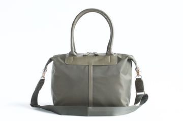Original Nylon Shoulder Bag - Olive - Petit Blue Handbags