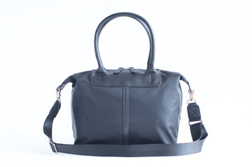 Original Nylon Shoulder Bag - Navy - Petit Blue Handbags
