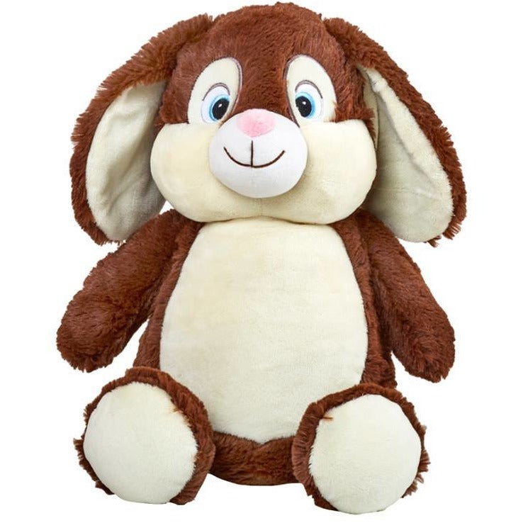 Brad the Brown Cubbie Bunny