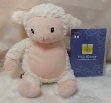 Load image into Gallery viewer, Loverby the Lamb Fluffy Cubbie