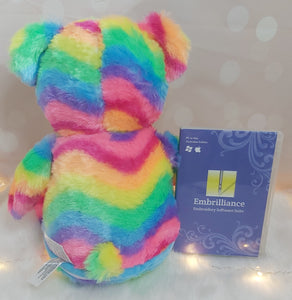 Hope the Pastel Rainbow BitsyBon Bear