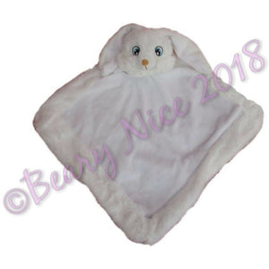 White Remembears Bunny Blanket