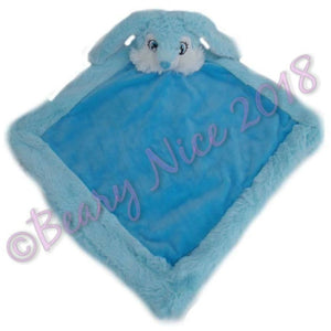 Blue Remembears Bunny Blanket