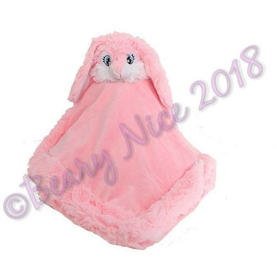 Pink Remembears Bunny Blanket