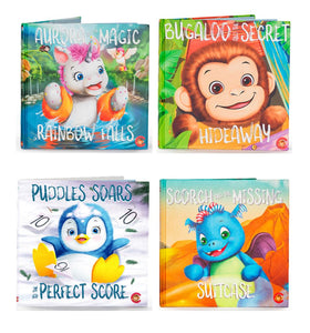 Aurora, Bugaloo, Puddles and Scorch Book Set