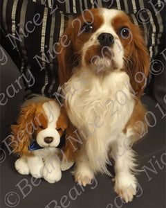 Blenheim Cavalier Toy