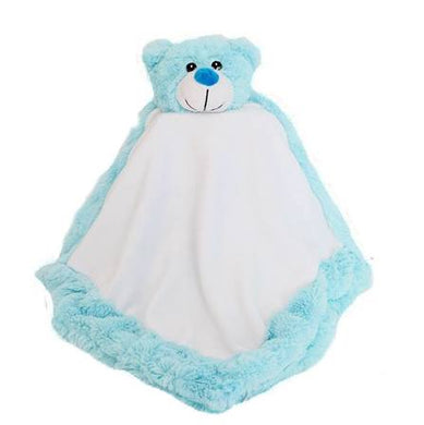 Snugabudz Blue Bear Blanket