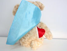 Load image into Gallery viewer, Red and Blue Snug Courageous Bear