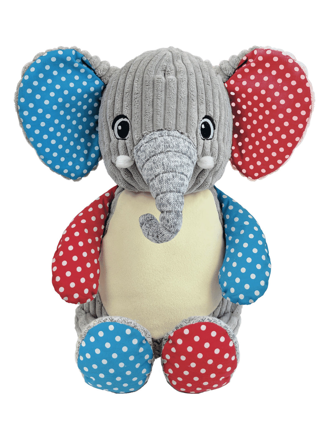 Harley the Harlequin Elephant Cubbie