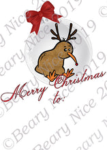 Load image into Gallery viewer, Kiwi Bauble Santa Sack